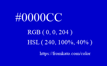 Color: #0000cc