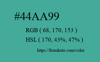 Color: #44aa99