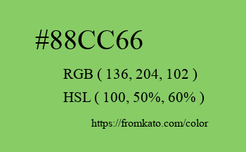 Color: #88cc66