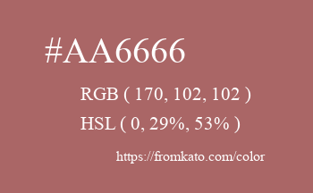Color: #aa6666