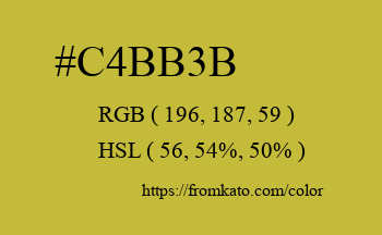 Color: #c4bb3b